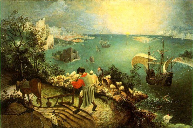 Brueghel Icarus